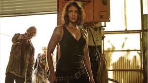 La actriz Lauren Cohan, en una imagen promocional de la serie The Walking Dead.
