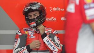 Jorge Lorenzo ha tenido que lidiar con múltiples altibajos en el rendimiento de su moto