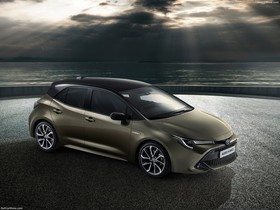 Toyota Auris Hybrid.