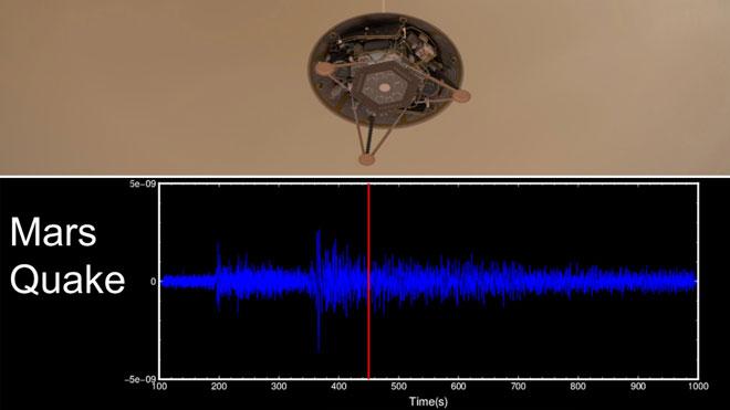 El primer butlletí de sismes marcians en comptabilitza 174 en menys d'un any