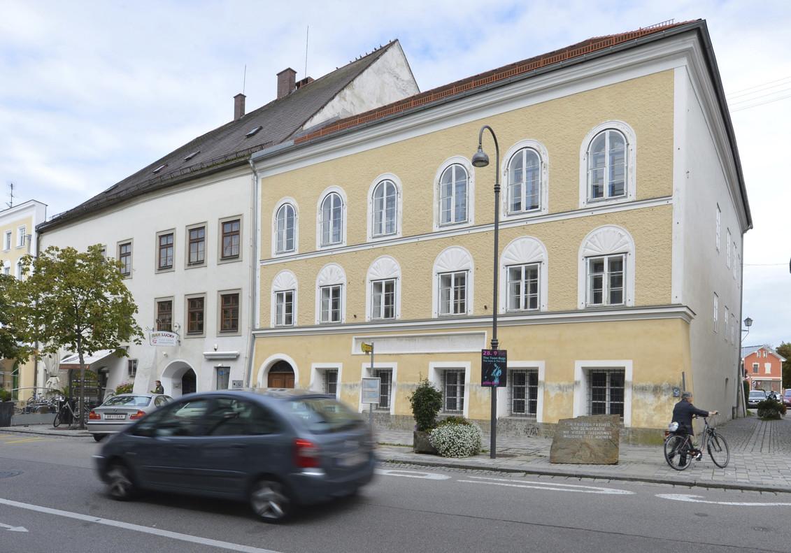 La casa natal de Hitler.