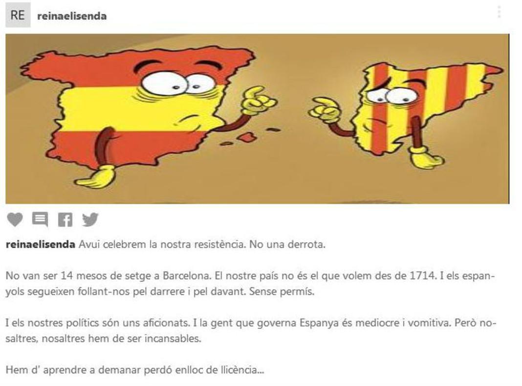 """Alamany, en el 2008: """"Los españoles siguen follándonos por detrás y por delante"""""""