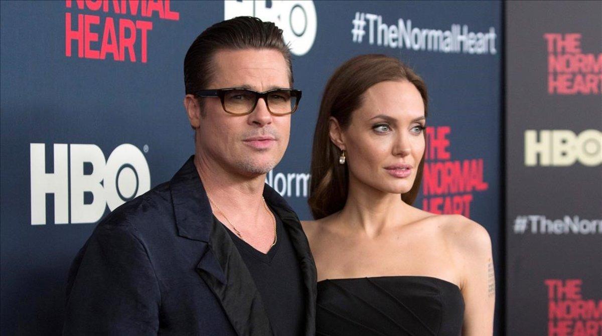 Una imagen de archivo de Brad Pitt y Angelina Jolie.