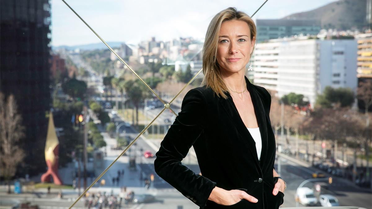 Anna Gener, socia y directora general del Savill Aguirre Newman Barcelona.