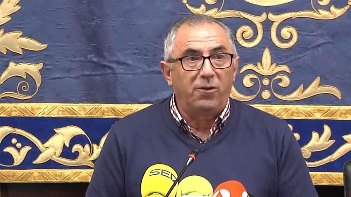 Antonio Nogales, alcalde de Pedrera.