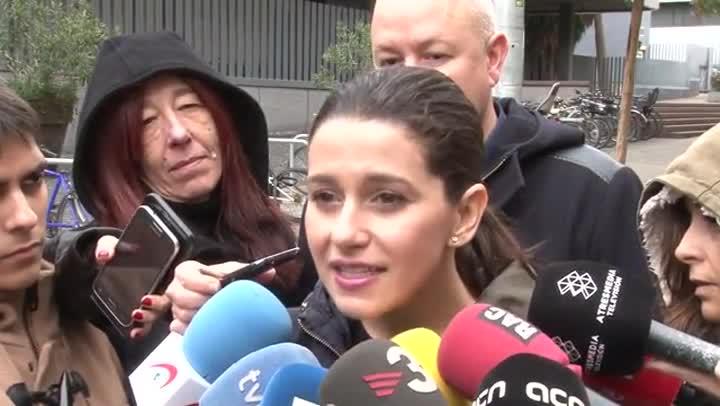 Arrimadas pide explicaciones tras las declaraciones de Vidal