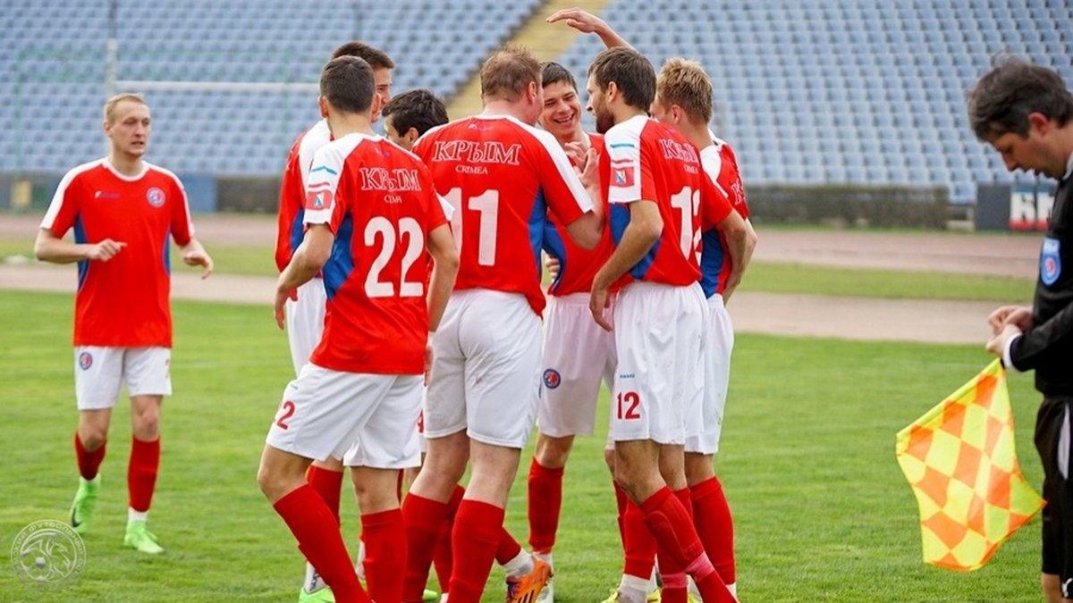 El fútbol en Crimea se juega al márgen de FIFA desde la anexión a Rusia.