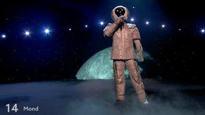 El homenaje especial del Eurovisión alternativo al astronauta, primer ganador de la versión alemana de 'Mask singer'