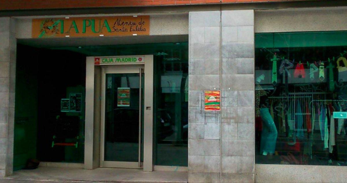 El Ateneu La Pua, situado en el barrio de Santa Eulàlia de LHospitalet