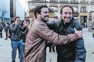 Mano a mano Garzón e Iglesias, en la Puerta del Sol, el día 9.