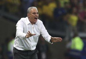 Adenor Bacchi 'Tite',seleccionador de Brasil.