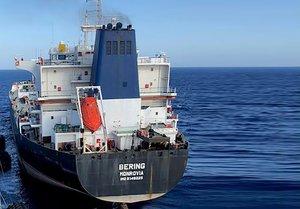 El petróleo era transportado en cuatro buques, llamados Luna, Pandi, Bering y Bella.