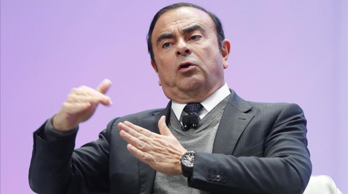 Carlos Ghosn, expresidente de Nissan, Renault y Mitsubishi.