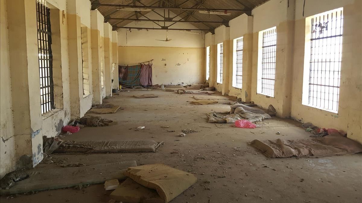 Una de las prisionesde la red secreta denunciada por Amnistía Internacional, donde supuestamente las fuerzas de seguridad de EAU y Yemen cometieron torturas.