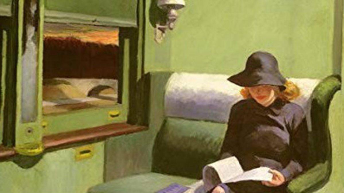 'Compartimento C, coche 193' , de Edward Hopper