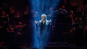 Raphael, durante el concierto del lunes 21 de diciembre en el Liceu.