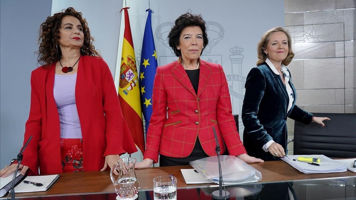 La rueda de prensa del Consejo de Ministros, en directo
