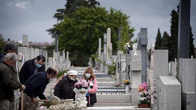 Covid-19: fúnebre y sin pompa.
