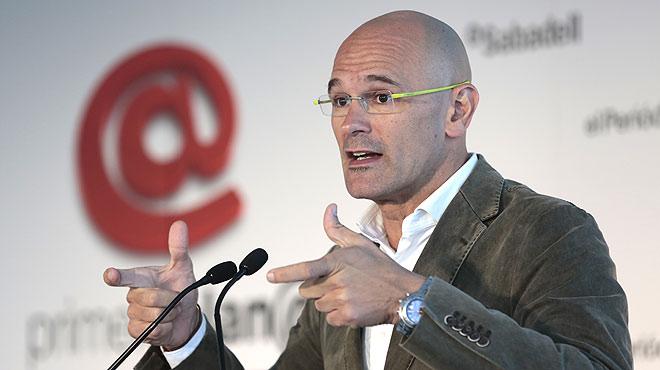 Raül Romeva, cap de llista de Junts pel Sí, és el polític que tanca el cicle de debats Primera Plana de cara a les eleccions del 27-S.