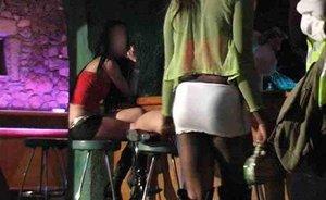 Imagen de un prostíbulo que estaba camuflado como discoteca en Madrid.