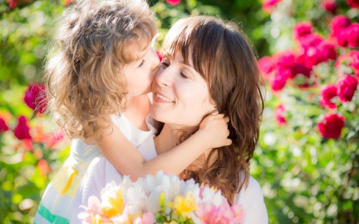 Felicidad y amor en el Día de las Madre.