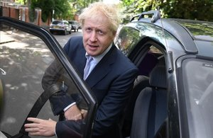 El dirigente conservador Boris Johnson.