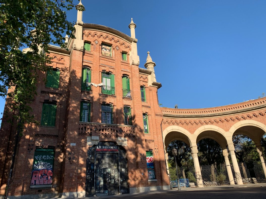 Imagen de la fachada de 'La Dragona'.