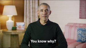 Barack Obama, en el vídeo sobre Obamacare difundido por redes sociales.