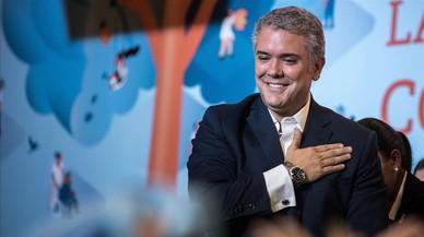 """Duque pide unidad y dice que """"la paz tendrá correciones"""" en Colombia"""