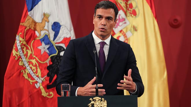 """Sánchez consuma el gir i qualifica la defensa de Llarena de """"qüestió d'Estat"""""""
