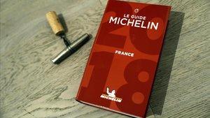 La edición francesa de la Guía Michelin.