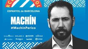 Pablo Machín, nuevo entrenador del Espanyol.