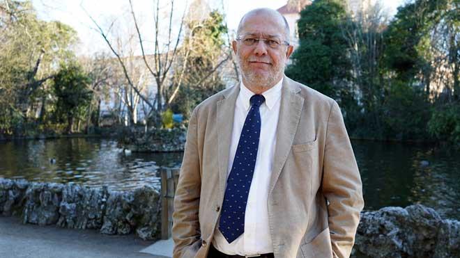 Entrevista con el vicepresidente de la Junta de Castilla y León, Francisco Igea, en Valladolid.
