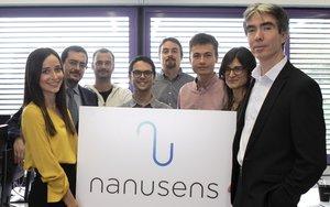 El equipo de Nanusens.