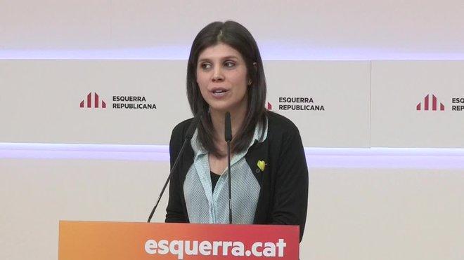 La portavoz de ERC, Marta Vilalta, ha advertido hoy que el no a los Presupuestos del Estado se mantendrá si no hay movimientos políticos.