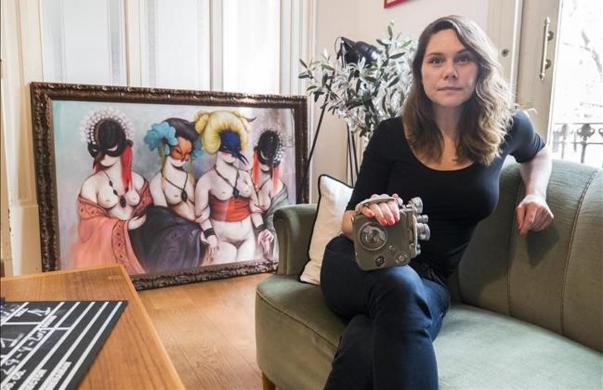 Erika Lust, directora de cine pornográfico.