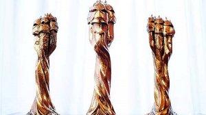 Estatuillas de los premios Gaudí