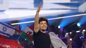 El representante de RTVE, Miki, durante su actuación en Eurovisión 2019.