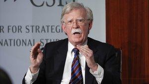 El exasesor de Seguridad Nacional de EEUU John Bolton, en una imagen de archivo.