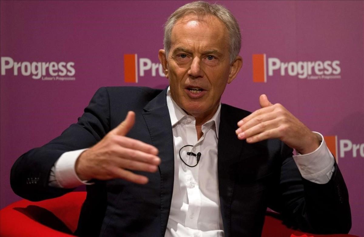 El exprimer ministro británico Tony Blair.