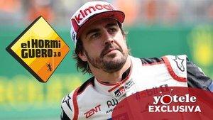 Fernando Alonso, invitado estrella de Pablo Motos el próximo lunes en 'El Hormiguero'