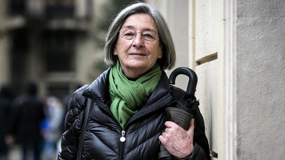 Glòria Cantarell,coordinadora del grupo de salud de la asociaciónDret a Morir Dignament (DMD).