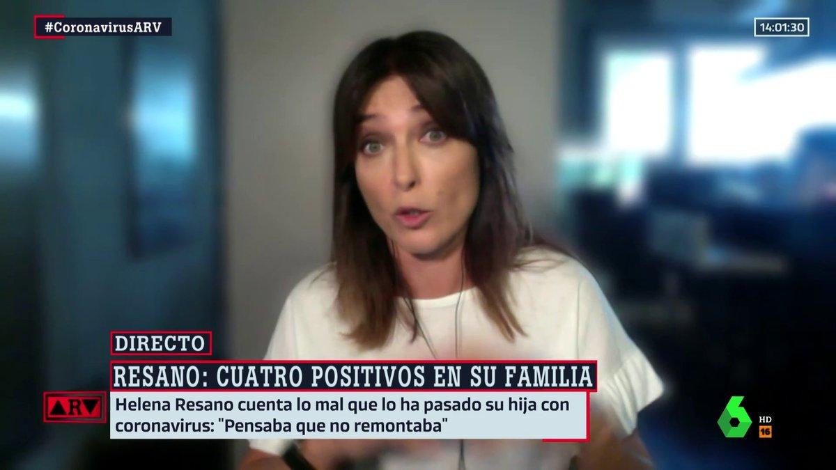 """Helena Resano cuenta su lucha frente a la Covid 19 y denuncia la ausencia de rastreadores: """"Mi hija ha estado mal"""""""
