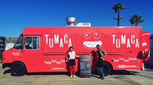 El food truck de Victor y Sybille se pasea por distintos lugares de Los Ángeles.
