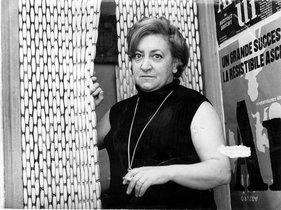 Maria Aurèlia Capmany, en 1976.