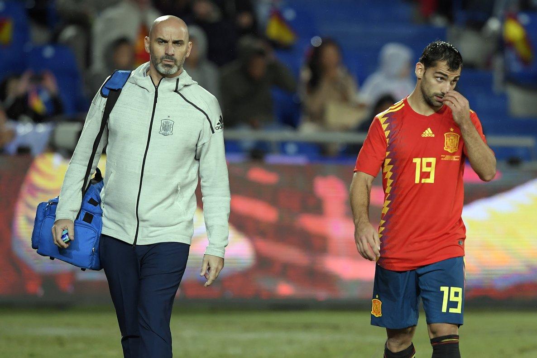 Jonny se retira lesionado en Las Palmas.