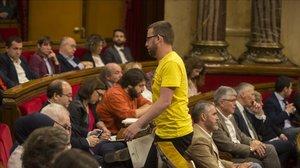 Independentistes i comuns impulsen una comissió sobre les càrregues de l'1-O