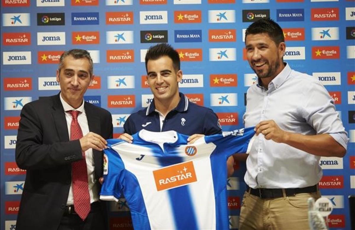 El Espanyol presenta a José Manuel Jurado