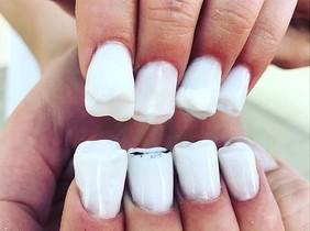 Las uñas muela revolucionan Instagram.
