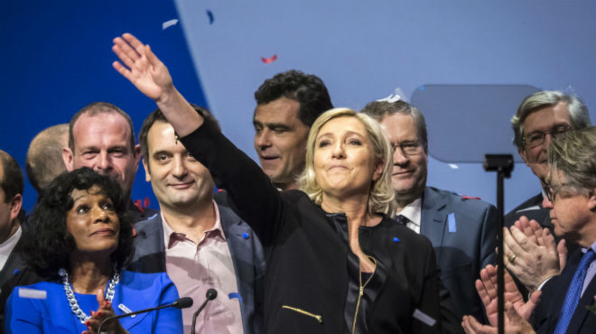 El vent bufa a favor de Marine Le Pen